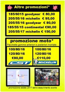 promozione gomme auto-moto-furgoni
